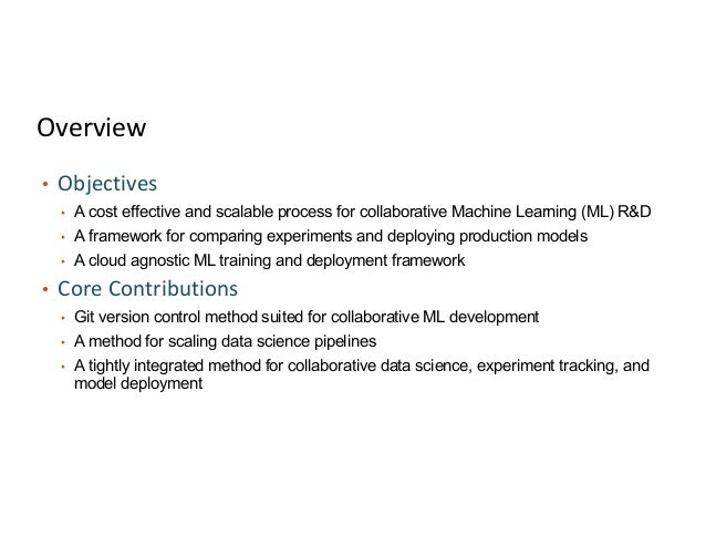 A Collaborative Data Science Development Workflow Slide 3
