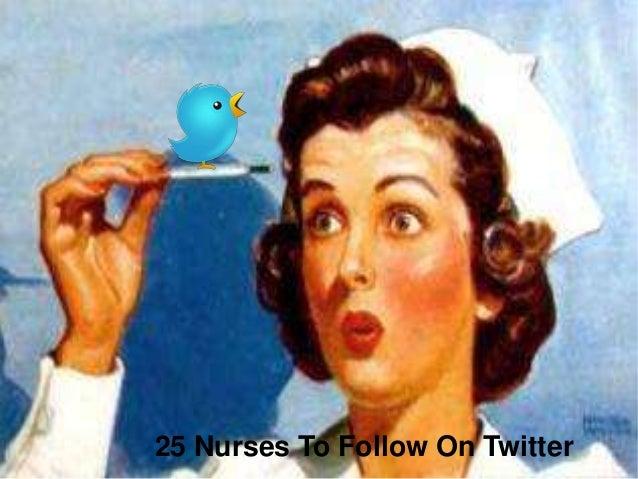 25 Nurses To Follow On Twitter