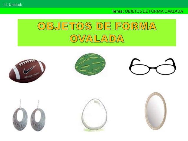 25 objetos de forma ovalada