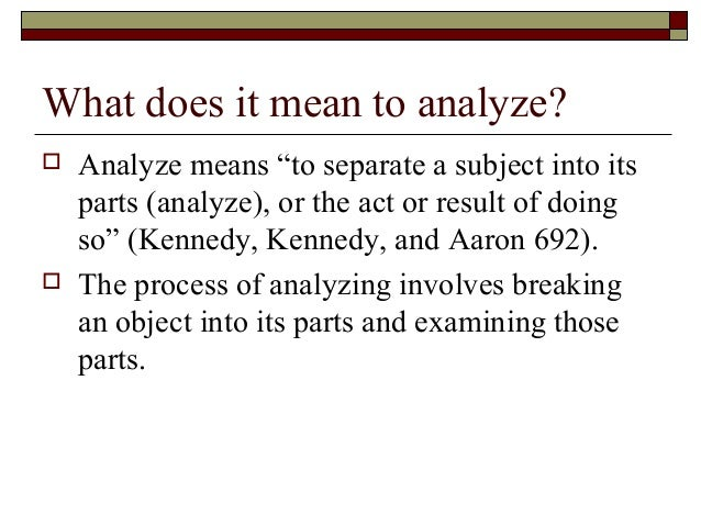 Analyze Essay. Image Titled Write An Analytical Essay Step 1 How ...