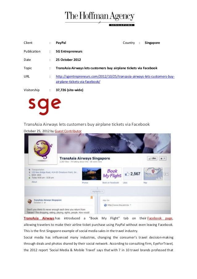 Client            :   PayPal                                           Country      :   SingaporePublication       :   SG ...