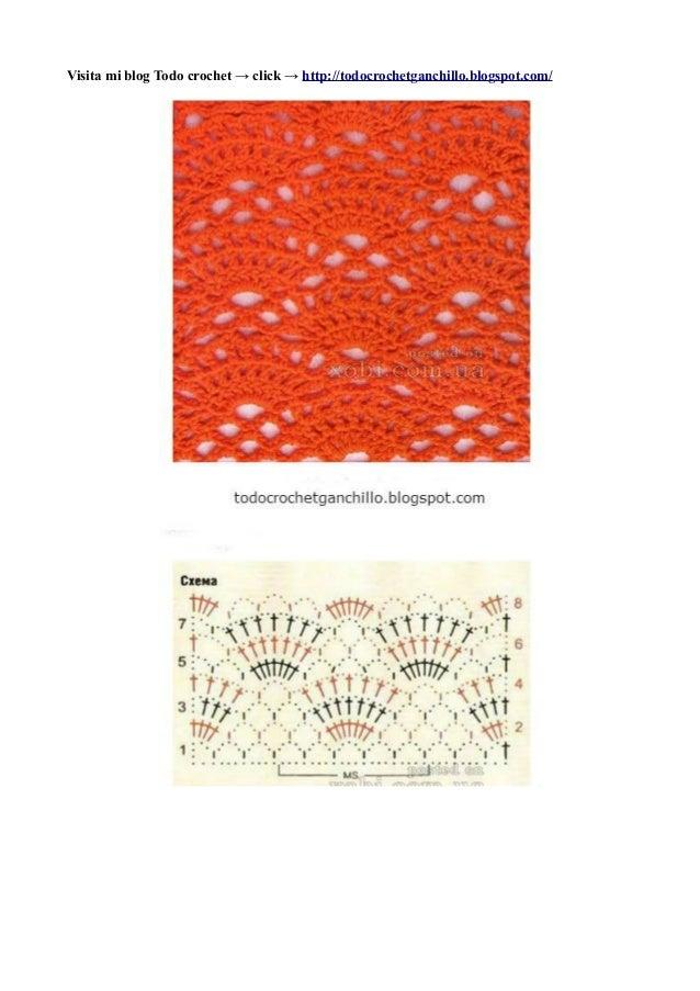 25 patrones de puntos calados crochet
