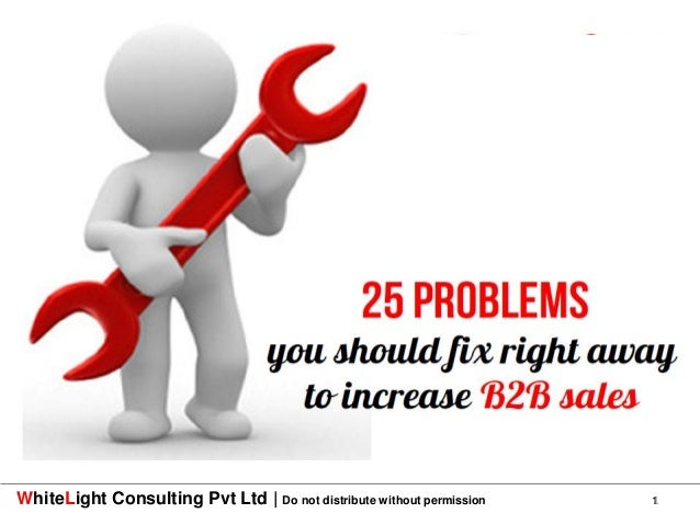WhiteLight Consulting Pvt Ltd   Do not distribute without permission   1