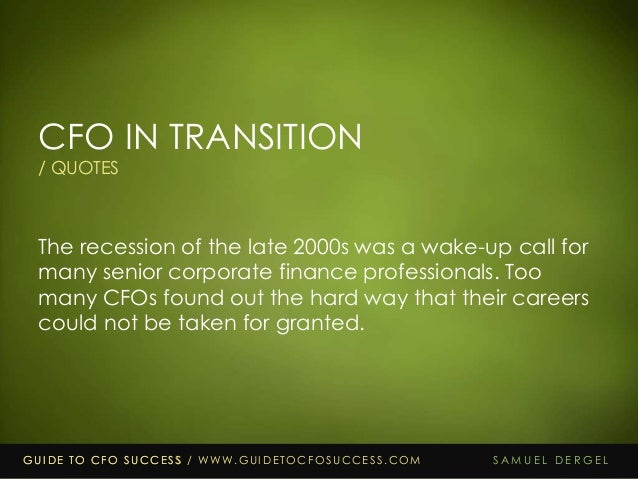 25 Quotes From Guide To Cfo Success