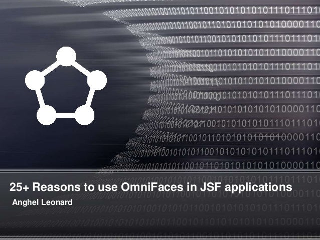 25+ Reasons to use OmniFaces in JSF applications Anghel Leonard