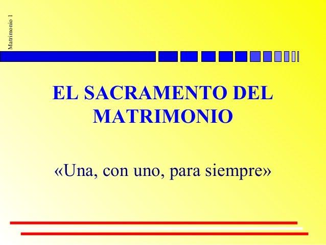 Matrimonio Para Siempre Biblia : El sacramento del matrimonio uno con una para siempre