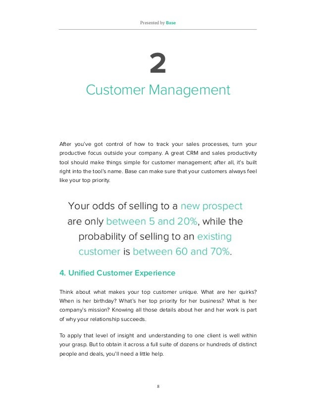 25 CRM & Sales Productivity 'Must Haves' For Growing Your