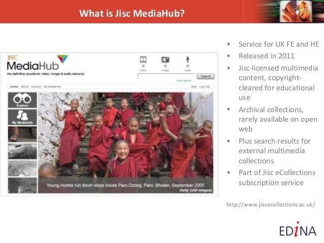Jisc MediaHub webinar Slide 2