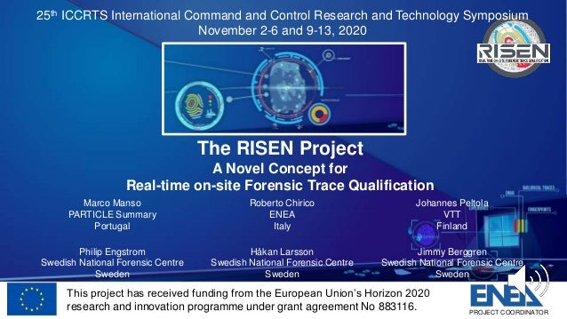 This project has received funding from the European Union's Horizon 2020 research and innovation programme under grant agr...
