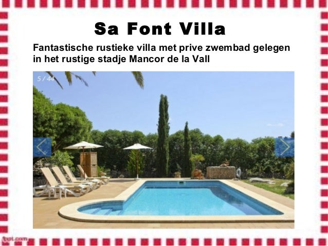 Vakantiehuis villa 39 s met zwembad te huur in mallorca for Villa met zwembad te huur