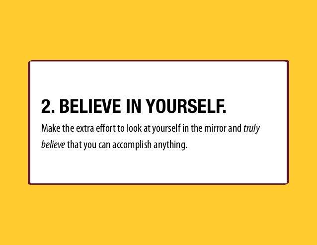 25 ways to improve yourself