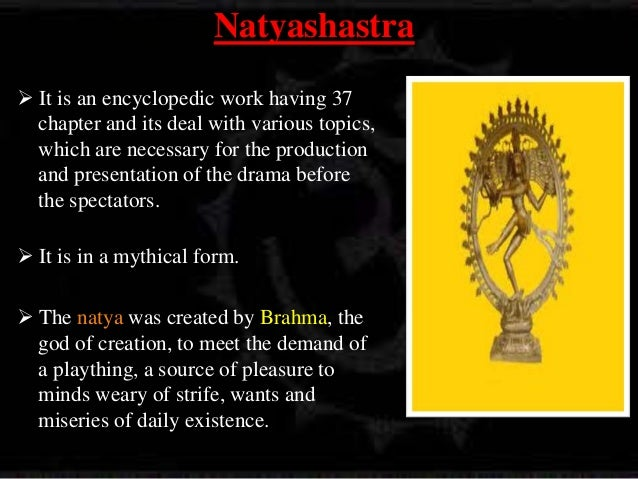 natya sastra Series: deccan college, building centenary and silver jubilee series, 69 note:  translation of the rasadhyaya chapter of bharata muni's natyasastra and.