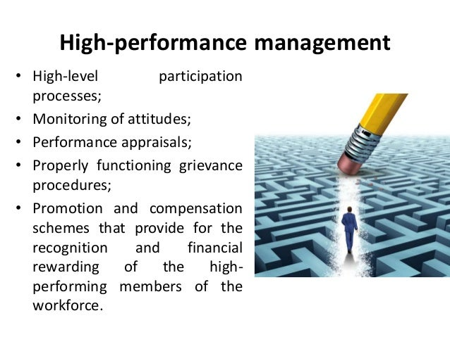 Approaches To Strategic Hrm High Performance Management