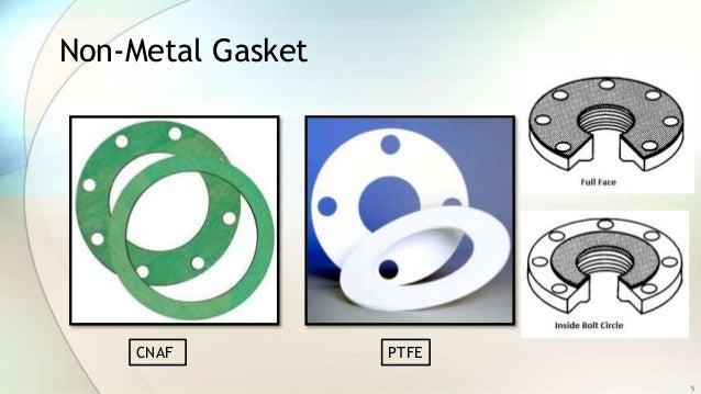 metallic gasket. non-metal gasket cnaf ptfe 5 metallic