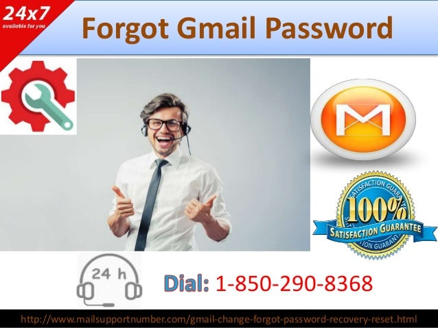 forget gmail password