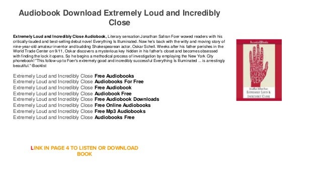 close incredibly audio free and book loud extremely