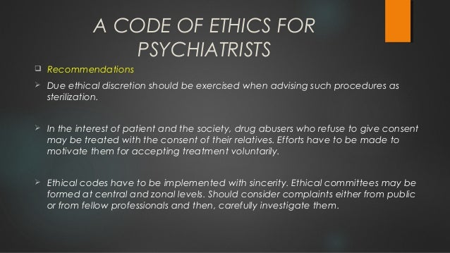 ethical principles of psychologists code
