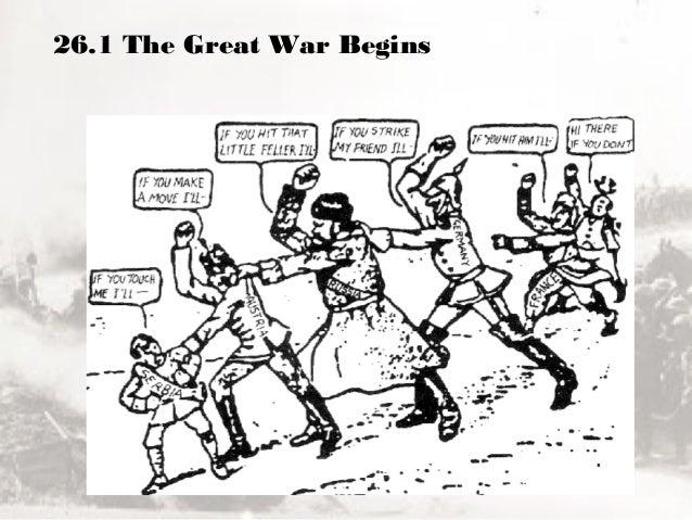 26.1 The Great War Begins