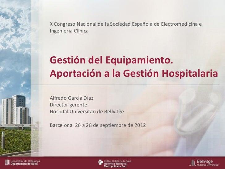 X Congreso Nacional de la Sociedad Española de Electromedicina e                            Ingeniería Clínica            ...