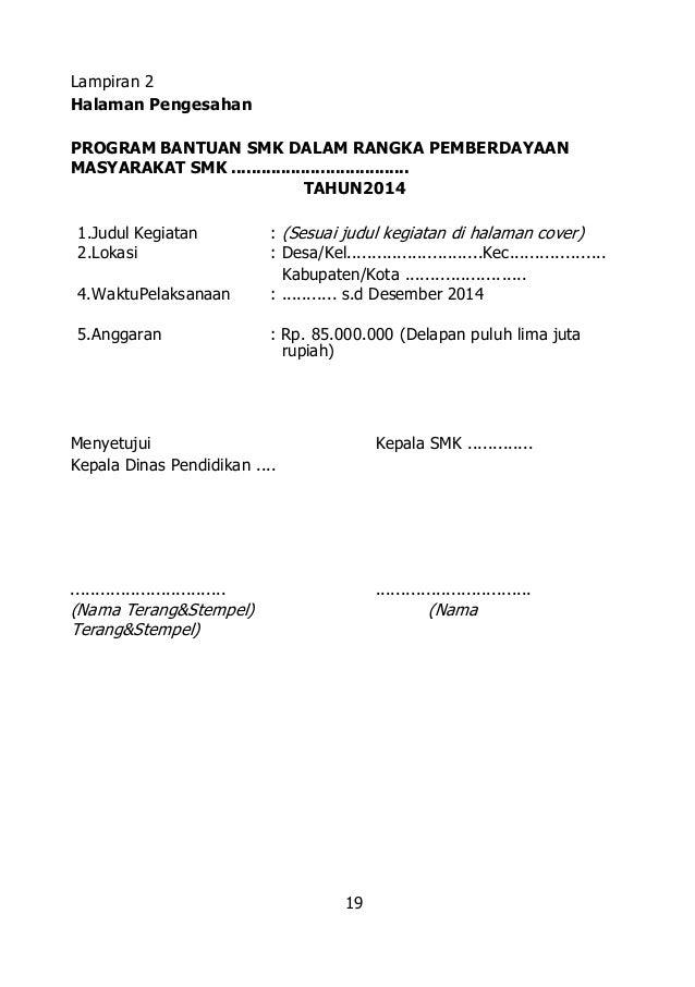 26 Ps 2014 Bantuan Smk Dalam Rangka Pemberdayaan Masyarakat