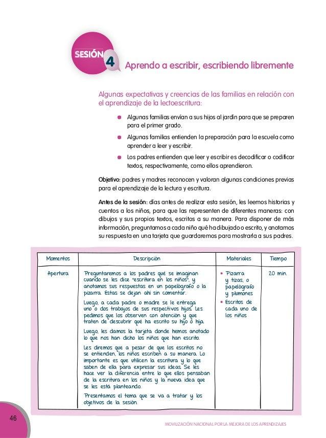 Guía para el trabajo con padres y madres de familia de Educación Inic…