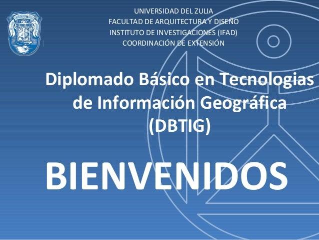 UNIVERSIDAD DEL ZULIA       FACULTAD DE ARQUITECTURA Y DISEÑO       INSTITUTO DE INVESTIGACIONES (IFAD)           COORDINA...