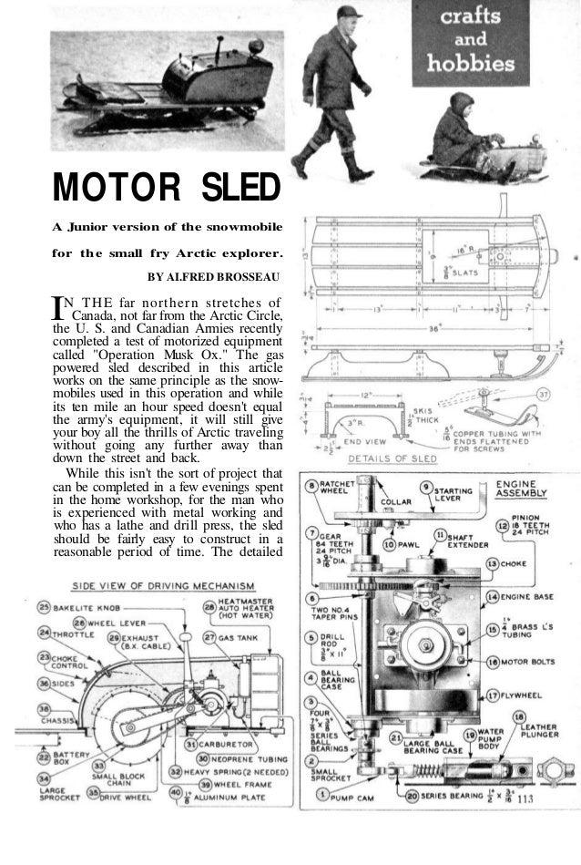 2602658 motor sled