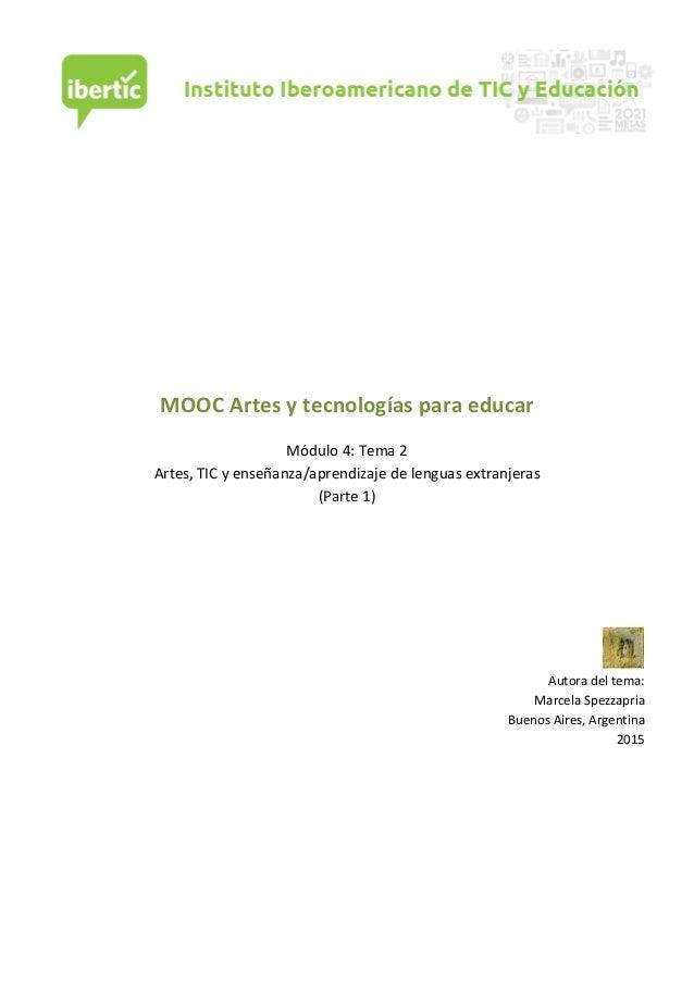 MOOC  Artes  y  tecnologías  para  educar      Módu...