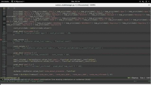 - Acoplamento Desenvolver estruturas de código isoláveis de maneira que a alteração ou remoção de um componente impacte o ...