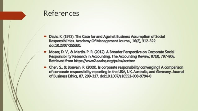 socially responsible corporations essay