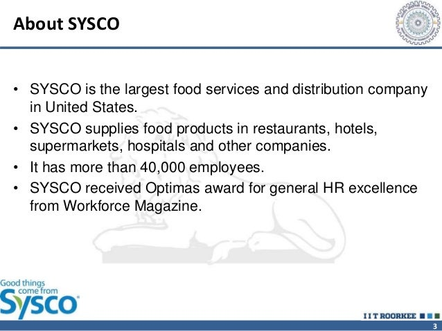 swot analysis for sysco And 'case study – sysco corporation' are most applicable to this module if these  clips  explain a swot analysis, including its purpose, process and payoffs.