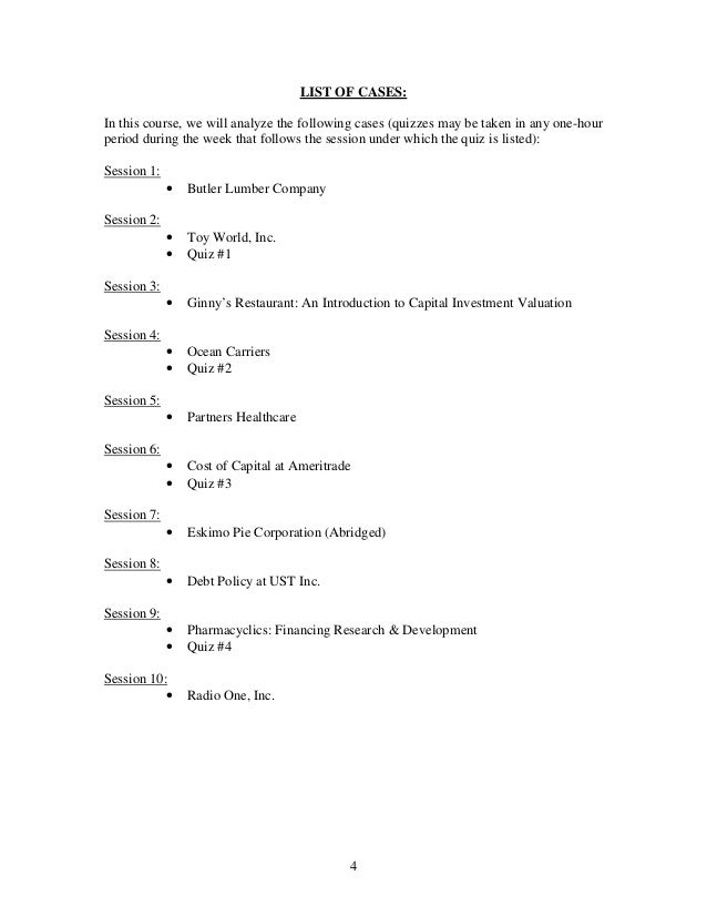 Eskimo Pie Corp. (Abridged) Case Study Analysis & Solution