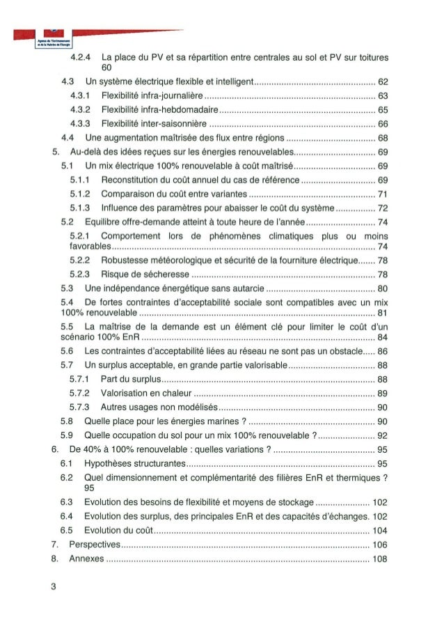 Energie : le rapport caché sur une France 100% renouvelable Slide 3