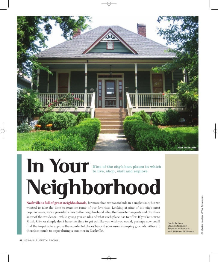 East Nashville         In Your                                         Nine of the city's best places in which            ...