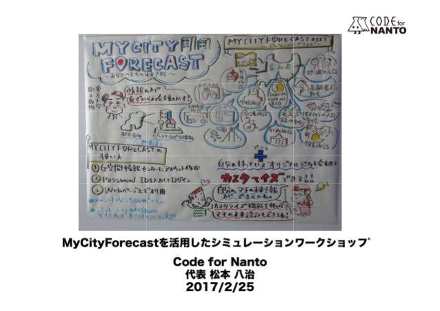 【UDC2016】アクティビティ261 my cityforecast