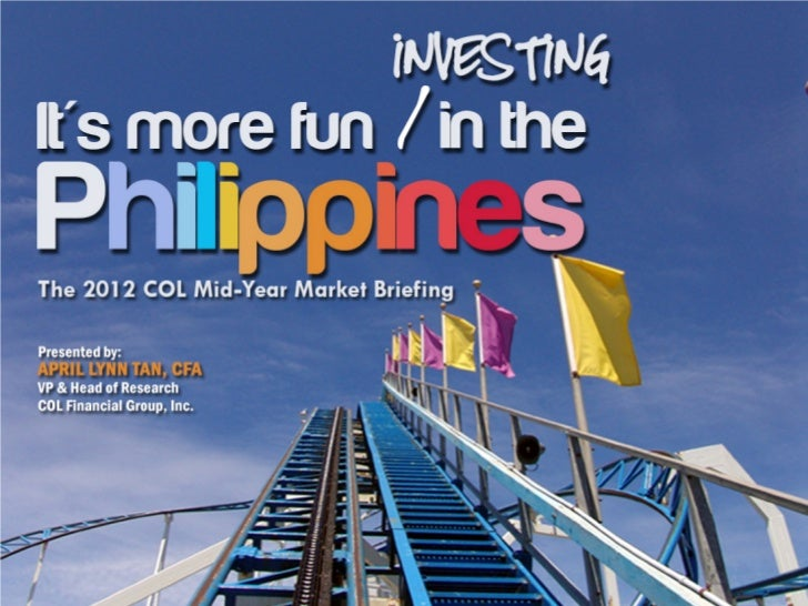 It's More Fun Investing in the Philippines            Comparative Performance (YTD)130                                    ...