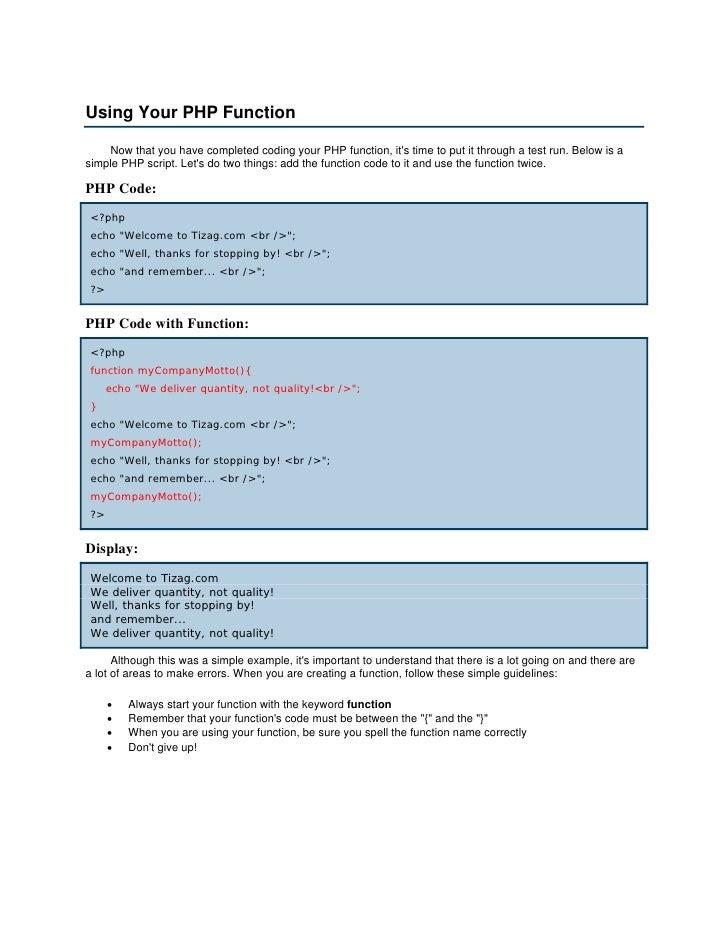 tizag php tutorial ebook