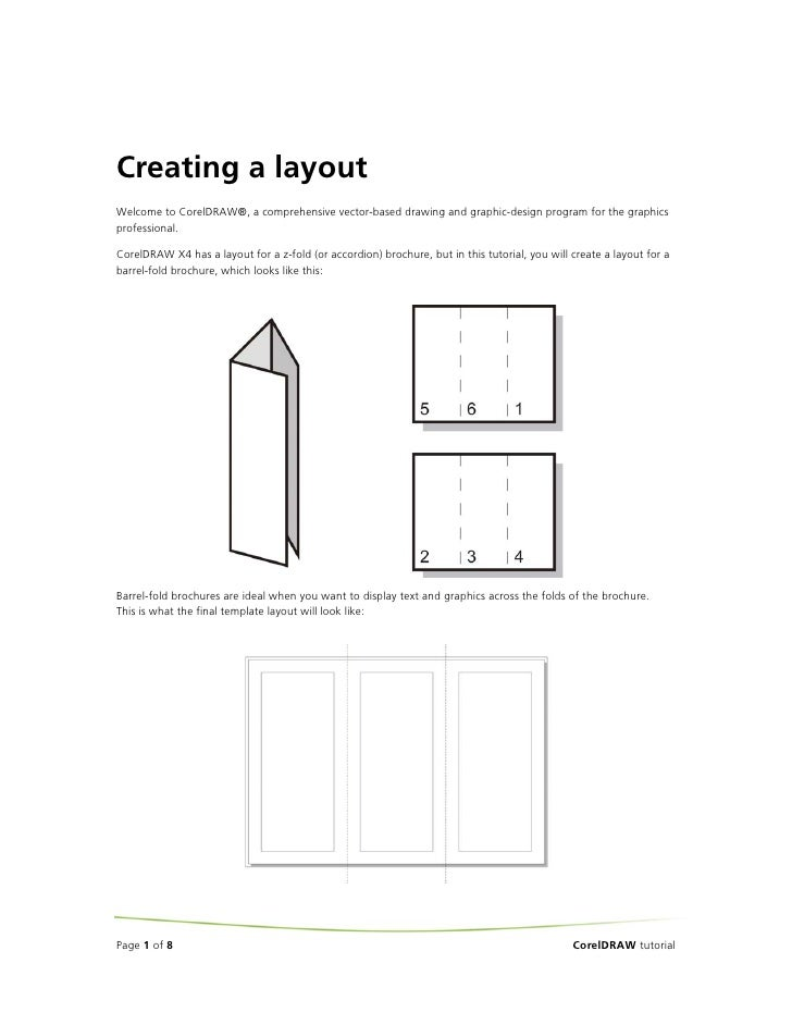 Creating a layout Welcome to CorelDRAW®, a comprehensive vector-based drawing and graphic-design program for the graphics ...