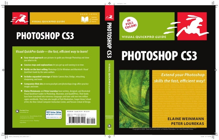 IN  FULLR!  COLO  VISUAL QUICKPRO GUIDE     PHOTOSHOP CS3                                  Adobe Camera Raw • actions • Un...