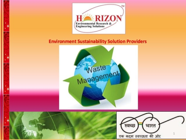 Environment Sustainability Solution Providers 1
