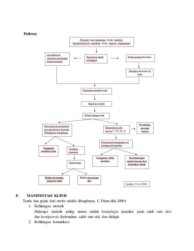 262578620 laporan pendahuluan stroke non hemoragik