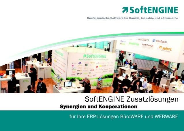 BüroWARE ERP Zusatzlösungen -  Synergie- und Kooperationslösungen für Ihre ERP-Lösung BüroWARE und WEBWARE