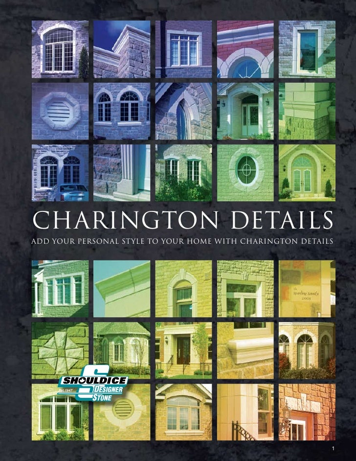 CHARINGTON DETAILS add your personal style to your home with Charington details                                           ...