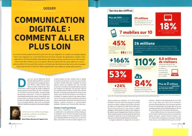 Communication digitale : comment aller plus loin - Brief (mai 2014)