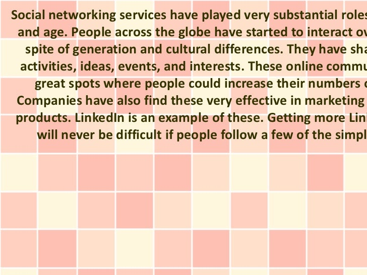 Social networking services have played very substantial roles and age. People across the globe have started to interact ov...