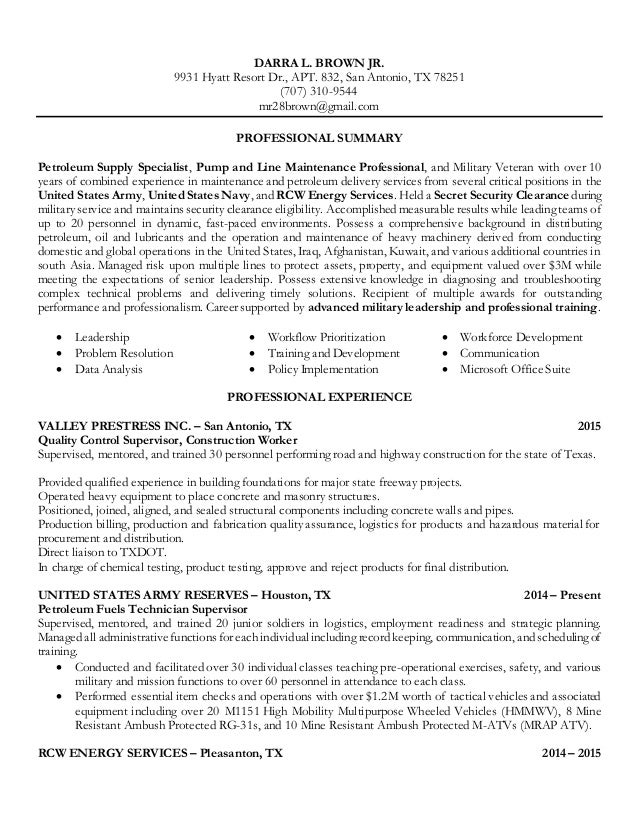 resume for hire