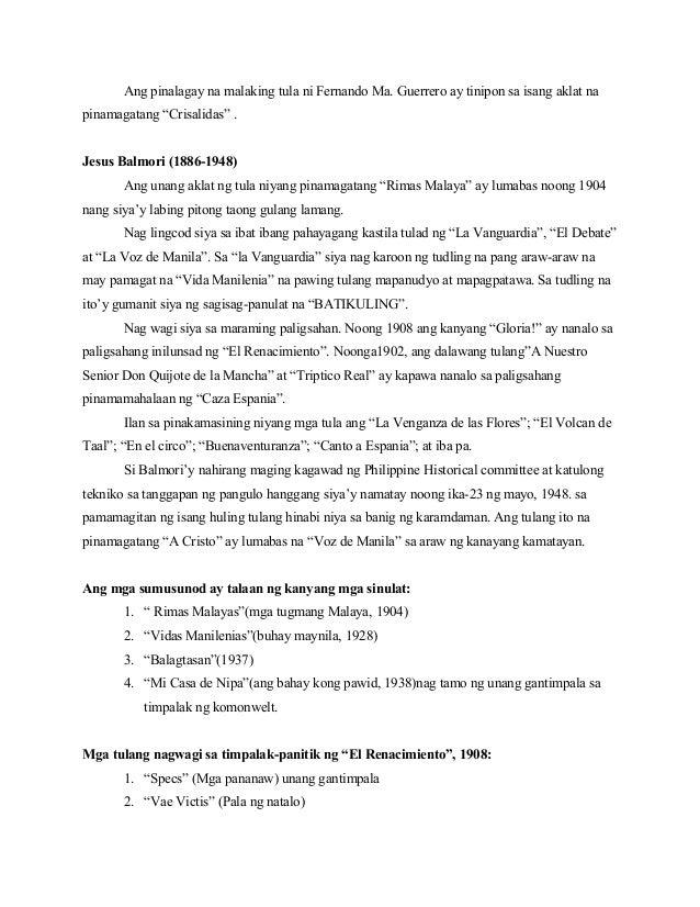 tula noong panahon ng kastila Sa panahon ng pananakop ng mga kastila,  noong dumarating pa lamang ang mga kastila sa pilipinas, hindi nila agad naturuan ng kristiyanismo ang mga katutubo,.