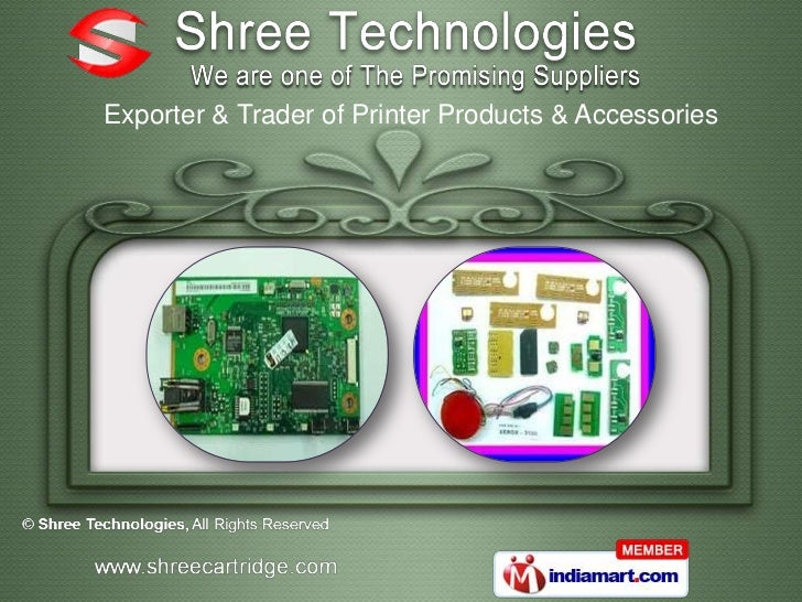Exporter & Trader of Printer Products & Accessories