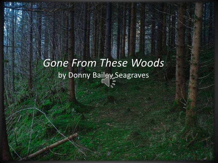 Gone From These Woods <br />by Donny Bailey Seagraves<br />