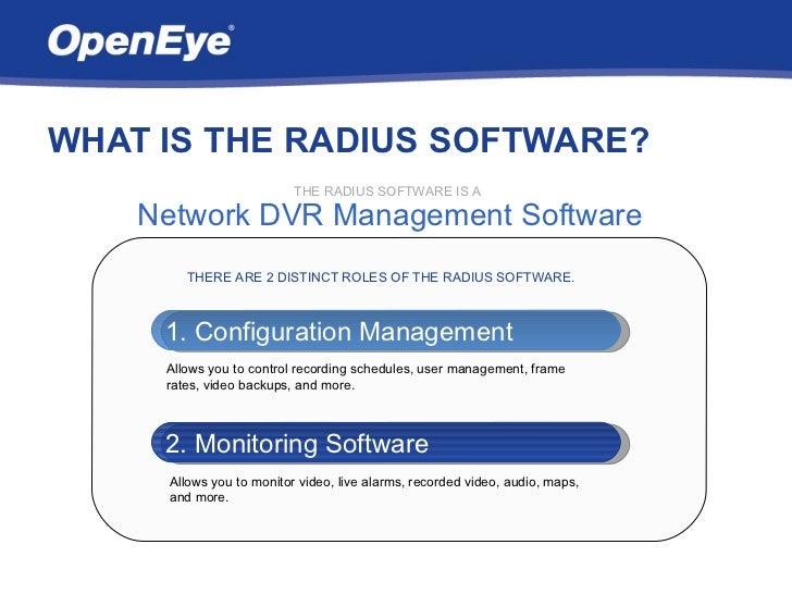 Openeye Radius Overview Slide 2